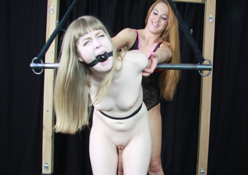 Sleeping slave bondage tied to a chair got nipple tortured used as an ashtray